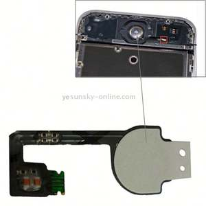 Original Version Home Key Button PCB Membrane Flex Cable for iPhone 4