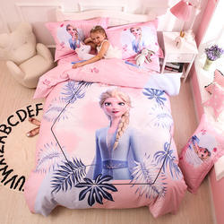 factory sale 3Ddigital printing cotton Frozen Princess kid t