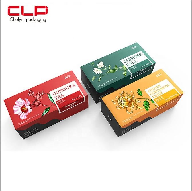 CLP 2020 Customized Tea Small Packaging Box with Customized Printing