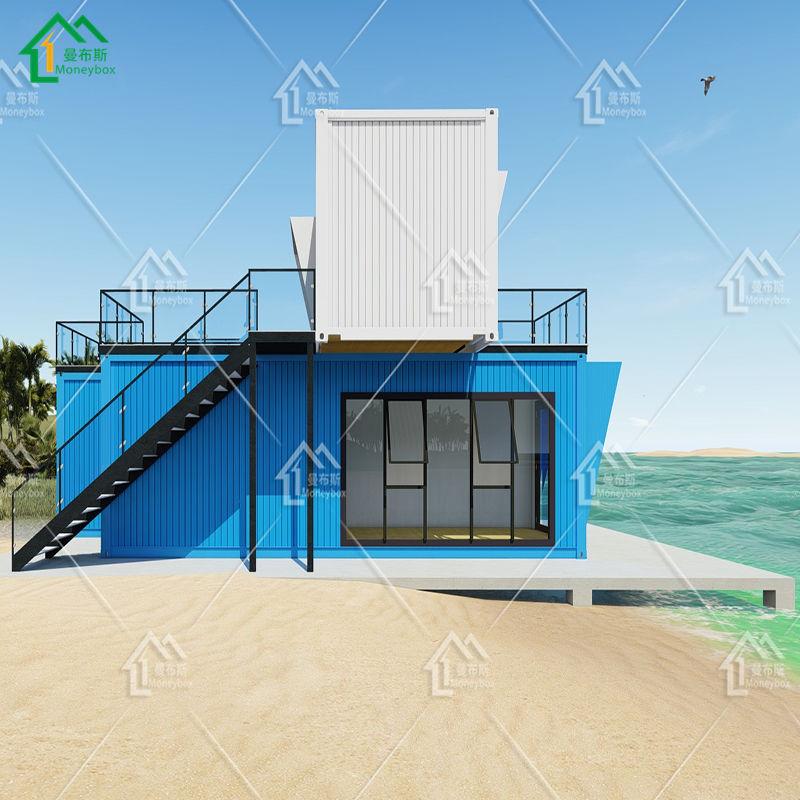 حاوية المعيشة المنزل الهيكل الصلب 20ft 40 حاوية شحن منزل السباحة بركة <span class=keywords><strong>خطط</strong></span>