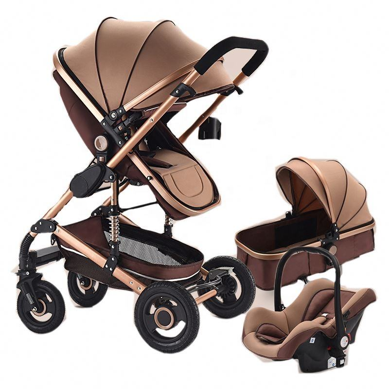 New Arrived Pram , Joggy pushchair baby stroller 3 in 1 with car seat travel system to Canada Market