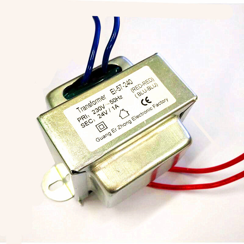Class B Step-Down Cô Lập Ac Ac Single Phase Power Transformer 230V 24V 1a