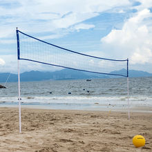 PVC Superior Volleyball Net System Set Outdoor Volleyball Set beach volleyball net set