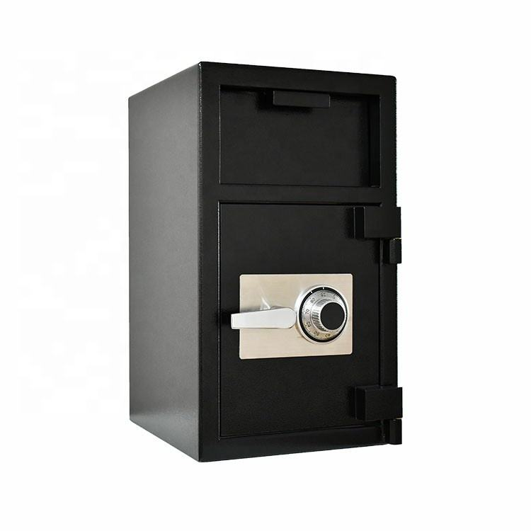 High Security Dual Key Metal Drop Coin Commercial Safe Commercial Retail Cash Coins Depository Safe Box