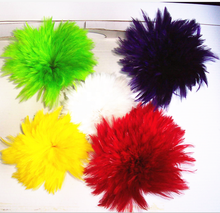 Strung Cock rooster feather Saddle Hackle Feathers