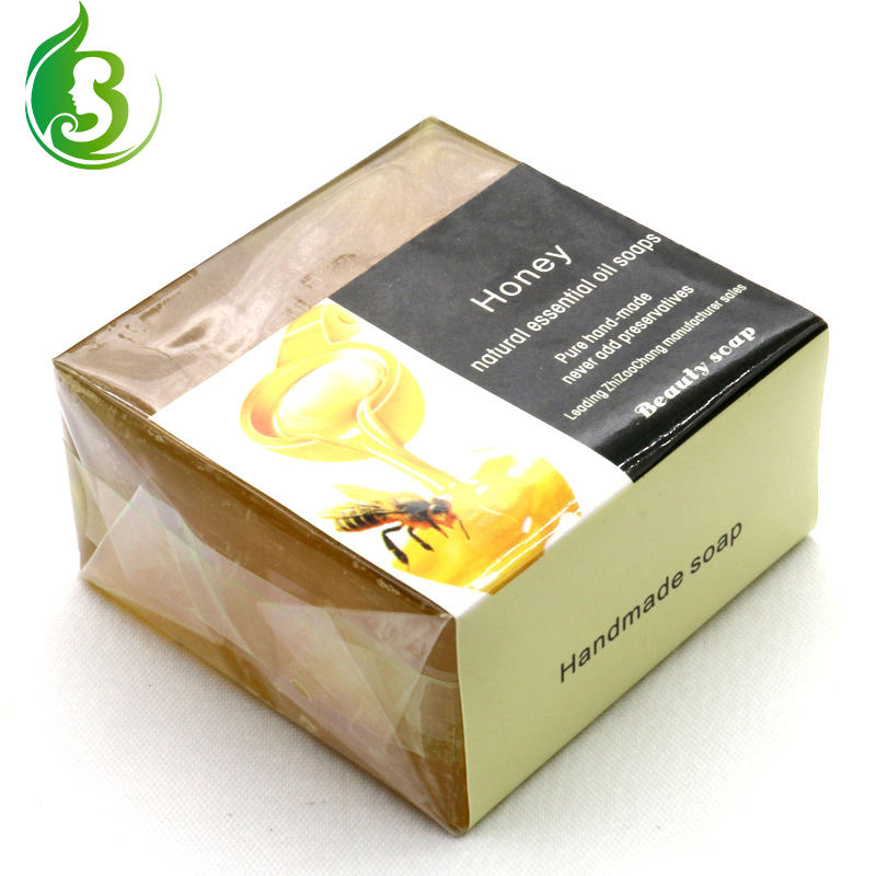 Unpigmented Honey Soap Natural Handmade Organic Handmade Soap