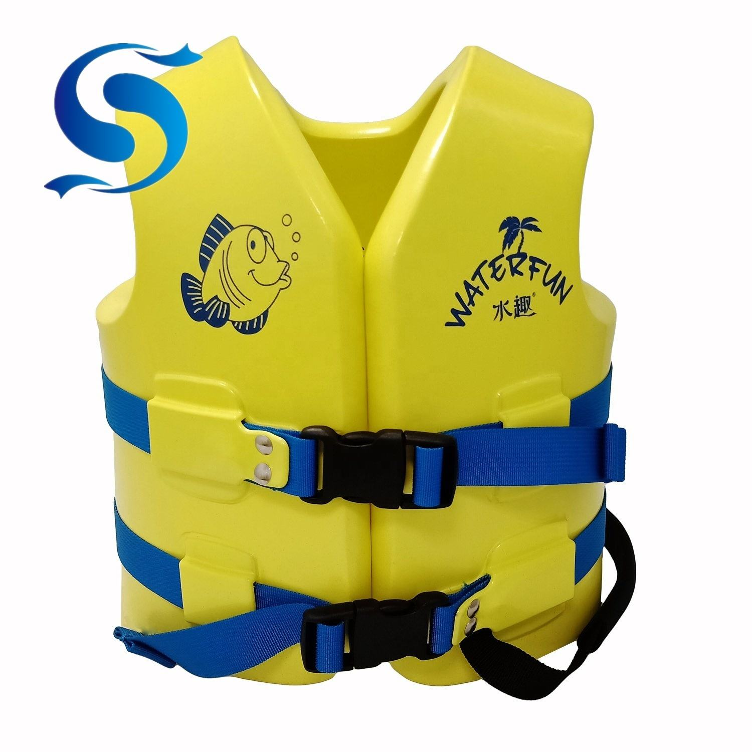 Waterfun Water Park Safety Products Soft Life Vest for Children and Adult