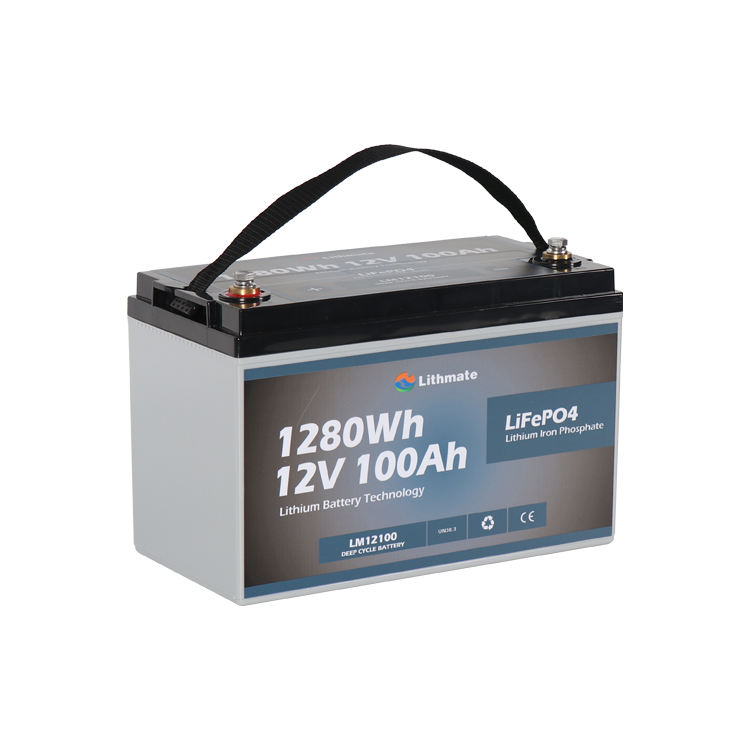 Deep cycle rv marine 12.8v li-ion iron phosphate battery pack prices rechargeable lifepo4 12v 100ah lithium ion batteries