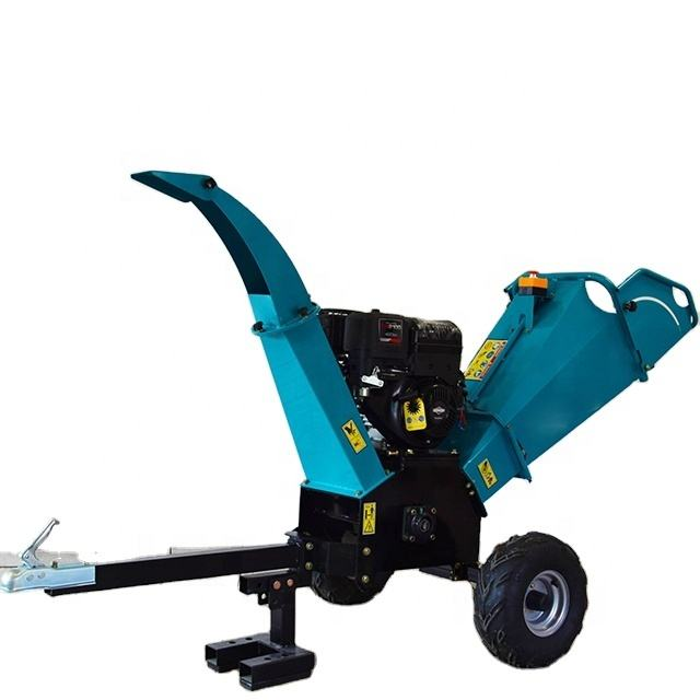 Forestry Machinery Bio Wood Chipper Shredder Mulcher For Sale Shredder Wood Chipper