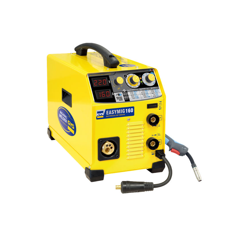 GYS-032255-160 semi-automatic machine that combines MIG/MAG cored wire and MMA welding processes Electric welding machine