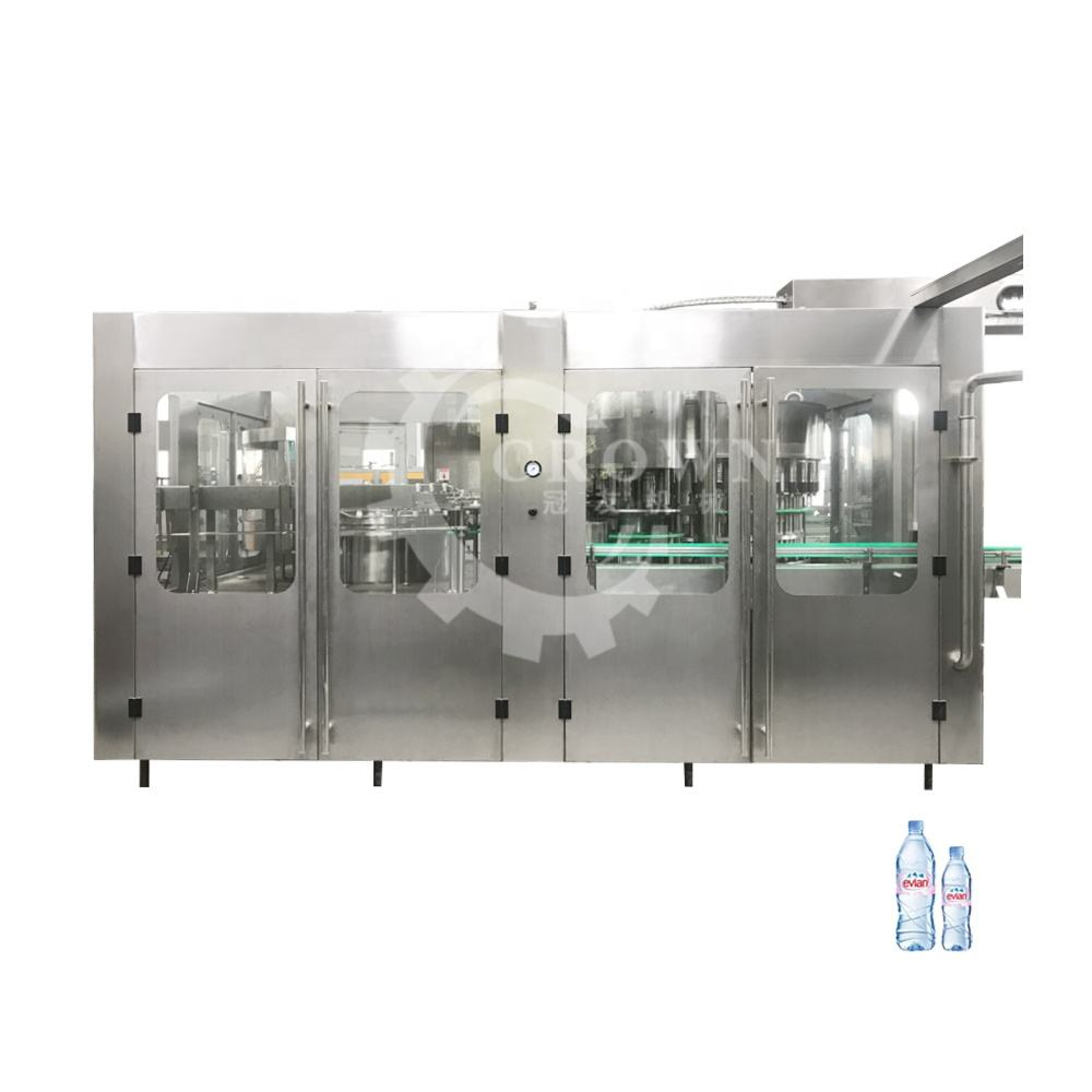 small scale bottle water filling machine / complete mineral water plant