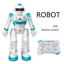 hot sale smart electronic remote-controlled robot toy with music lights moving walking singing/gesture sensor/obstacle avoidance