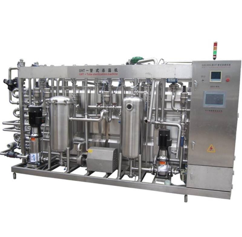 milk pasteurization plant equipments