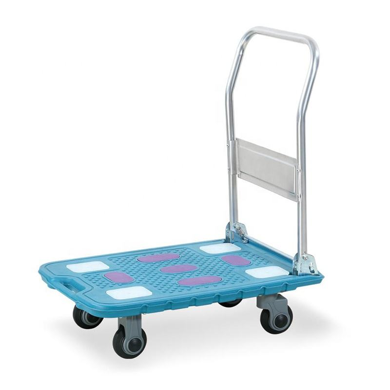 Dolly — <span class=keywords><strong>chariot</strong></span> en plastique HDPE, <span class=keywords><strong>chariot</strong></span> Portable pliable et pliable, pour camion à main