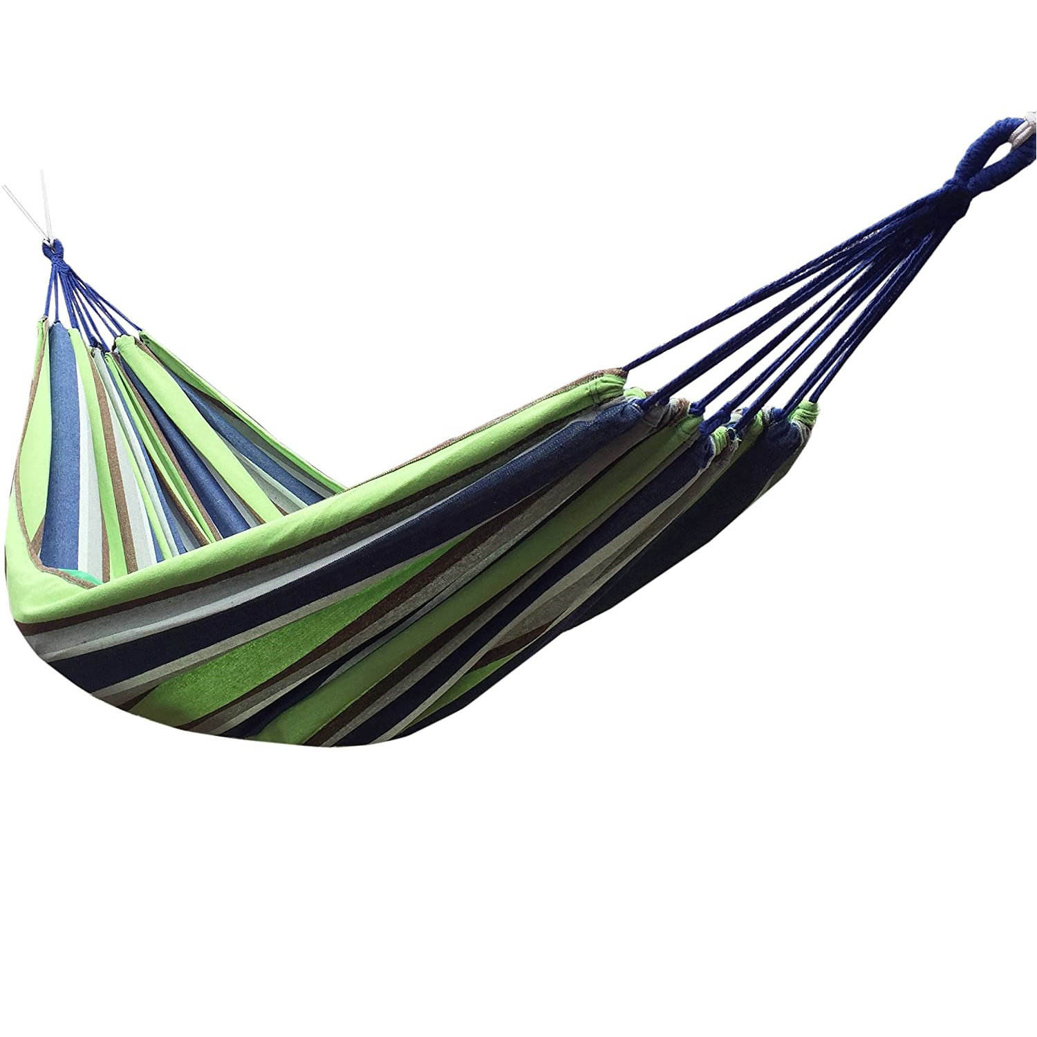 Wholesale Custom Hamaca Colorful Canvas Hanging Outdoor Camping Hammock