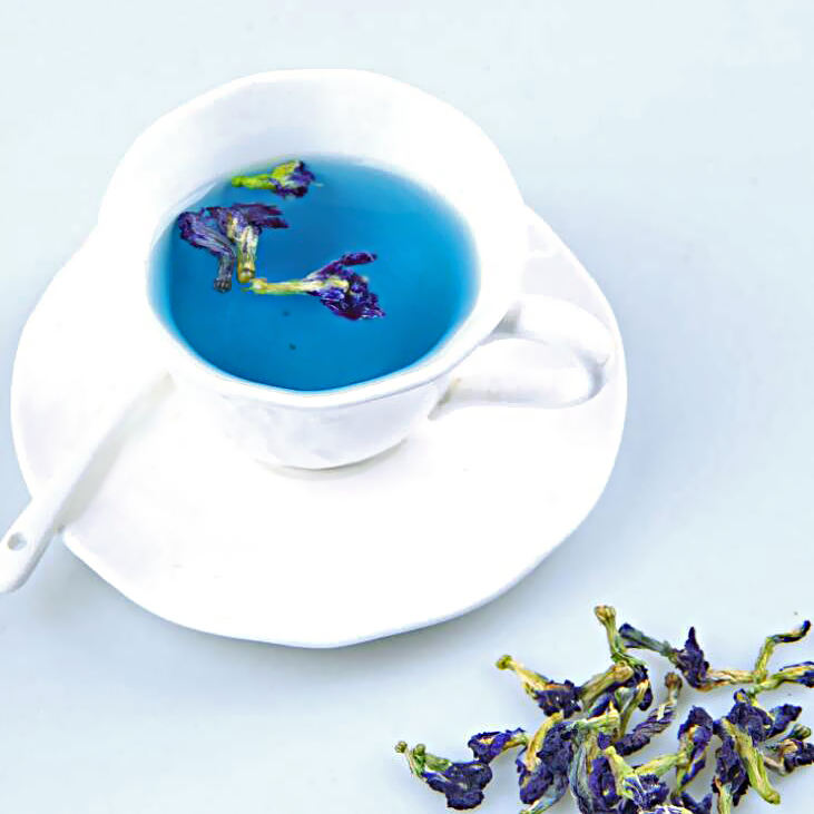 Blue Pea Flower Tea Drided Butterfly Pea Flower