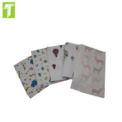Breathable Soft cotton flannel 20*10 40*42 fabric for Baby Diaper