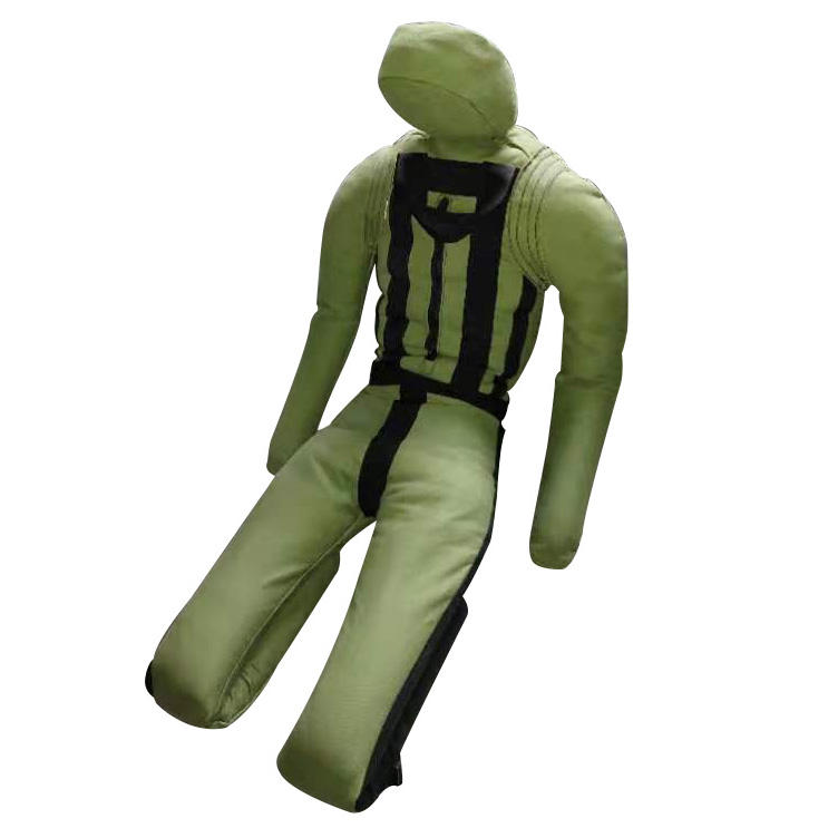 ActEarlier 170cm empty unfilled boxing MMA punching bag sand bag army soldier rescue training manikin dummy