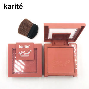 Kiss Beauty 4 Color Blush Square Matte Blush Brighten Skin Tone Natural Lasting Repair Rouge Beauty Cosmetics