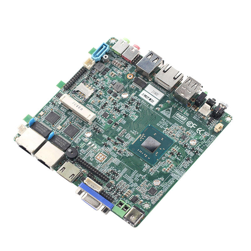 ב-תל הכפול LAN NANO ITX 120*120mm Fanless האם lvds עבור fanless <span class=keywords><strong>מחשב</strong></span>