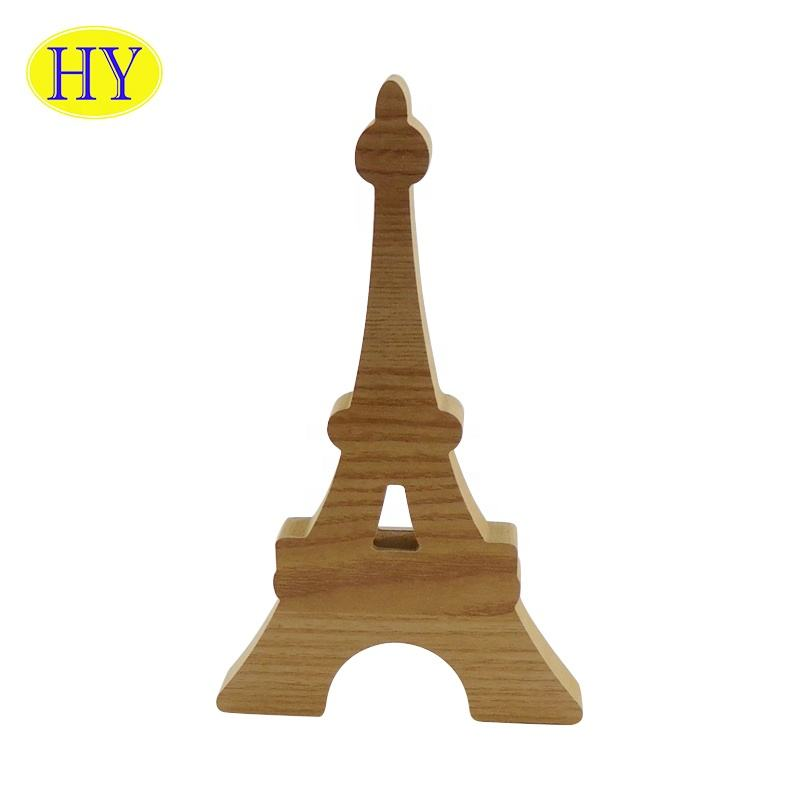 Wholesale Home Decoration unfinished wood shapes crafting modern