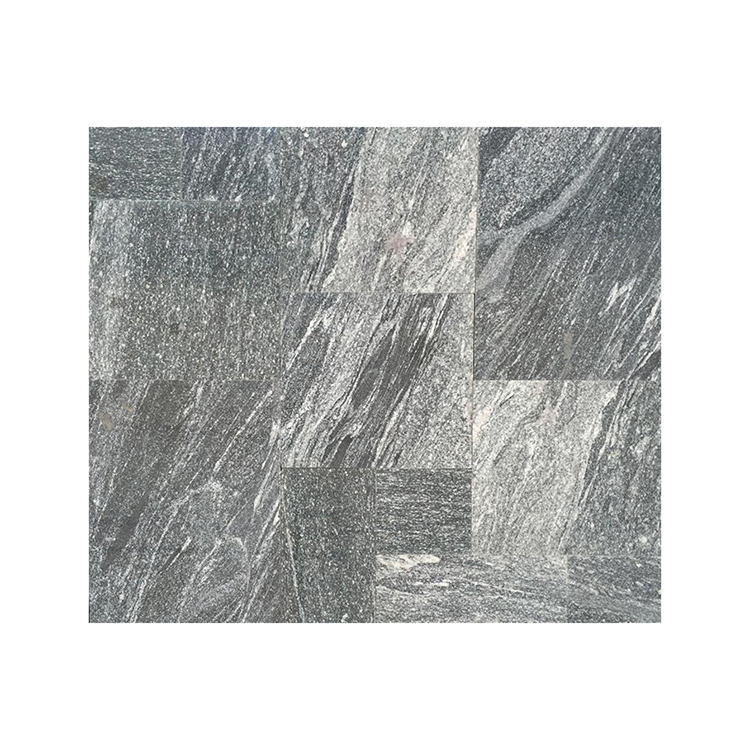 Mixed Size 2.5CM Thickness Grey Flag Tile