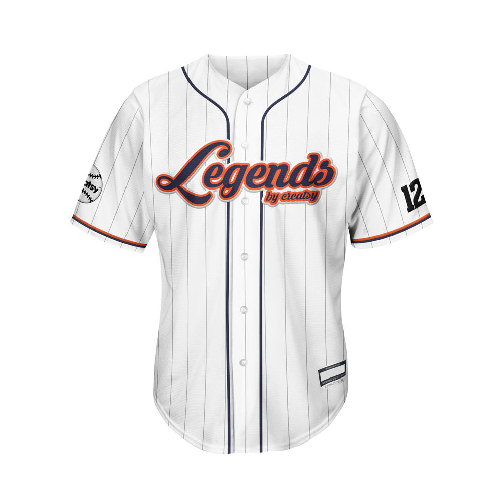 Manufacture promotional team logo Print Uniforms Sport Baseball Jersey