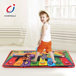 Soft music dancing toy baby keyboard musical piano kids play mat for children