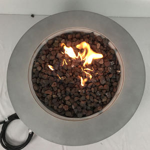 Hot Sale Tabletop Half Sphere Portable Fire Pit Bowl Firepit