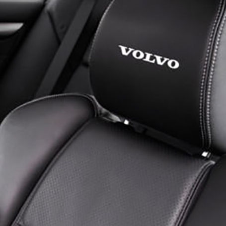 5x Volvo Sticker for leather seats and other flat and smooth surfaces