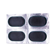 Round rubber bicycle tube inside tire repair patch kits