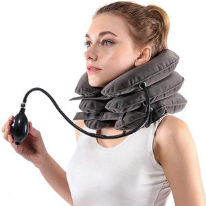 Best selling adjustable home cervical traction neck supporting brace device