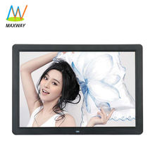 Commercial Advertising 12 15 Inch Hanging Wall Mount Lcd Digital Photo Frame with Video Input
