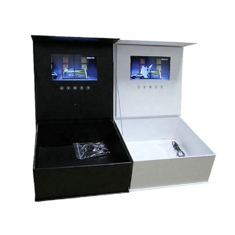 lcd video gift box alibaba grow team video brochure valentine's day gift last-minute