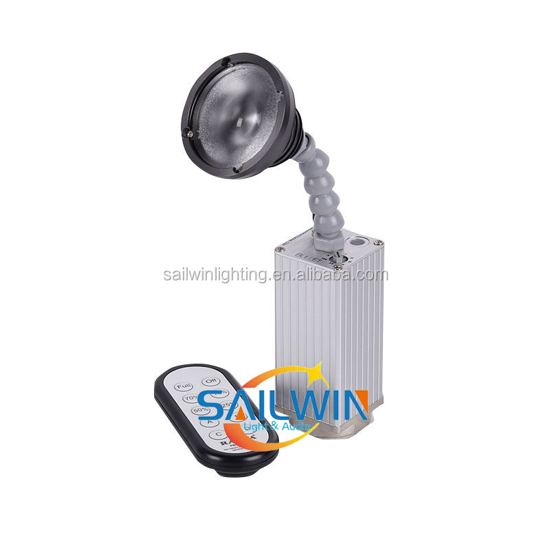Professional Rasha stage LED 10W Warm White Zoom Wireless Battery Powered DMX led Pinspot Light