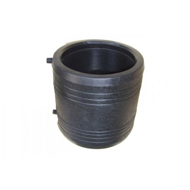 China Manufacture HDPE Electrofusion Pipe Fittings SDR11 SDR17 Pn10 Pn16 Pe 110 Mm HDPE Electrofusion Equal Coupling