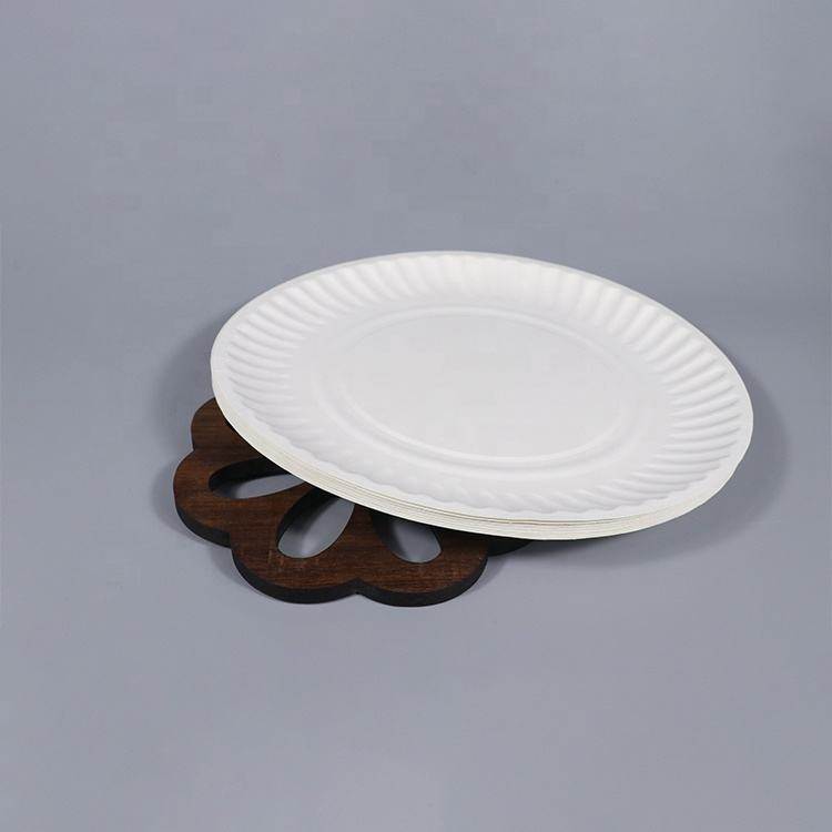 Disposable Paper Dishes Dinnerware Sets For Restaurant