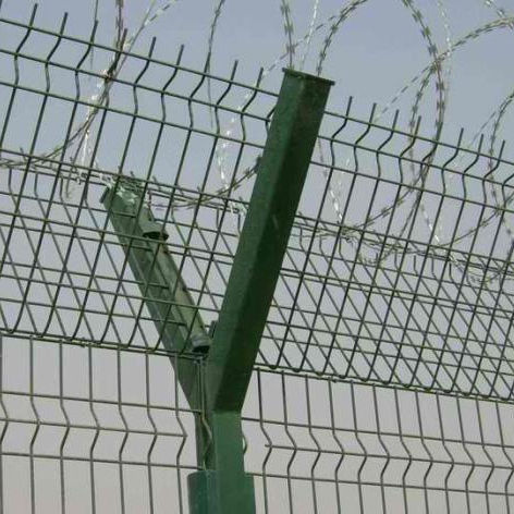 Galvanized safety razor barbed wire/razor barbed wire fencing/barbed wire