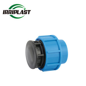 High quality PN16 DN20-110 Drip irrigation fitting PP Hdpe Compression Fittings Water Pipe End Cap for water supply