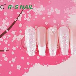 Free sample RS Nail Ransheng Gel Polish With  Uv Nail Polish Granulated sugar Nail Polish