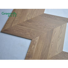 Guangdong 2019 popular wood flooring fishbone chevron parquet
