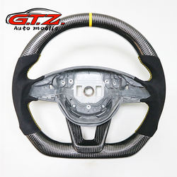 For Benz C-class GLA CLA GLS GLE CLS A B class carbon fiber steering wheel transformation Custom