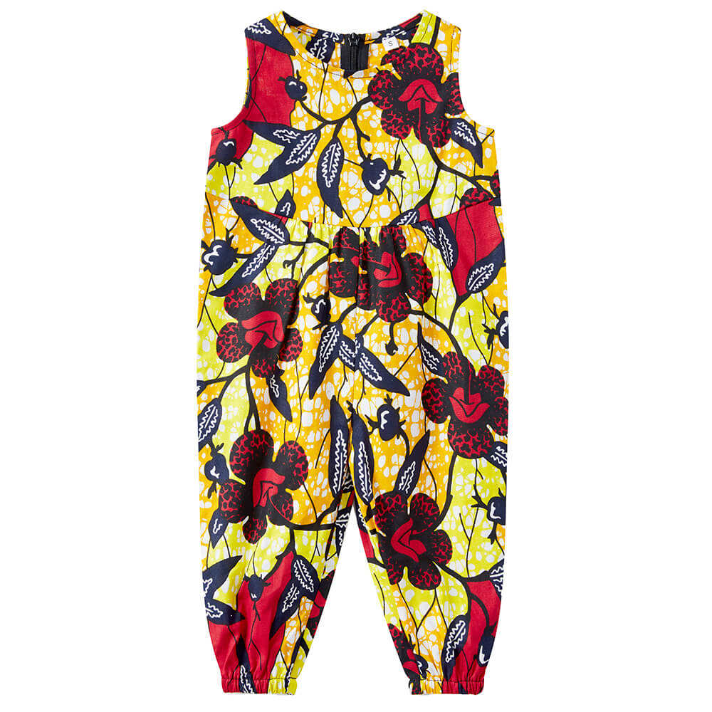 African romper for for kids with Kente Print cotton material baby Jumpsuits