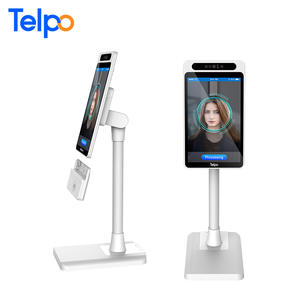 Telpo TPS989 facepay Facial Recognition ระบบ Android POS อุปกรณ์ NFC Card Reader สำหรับขายปลีก