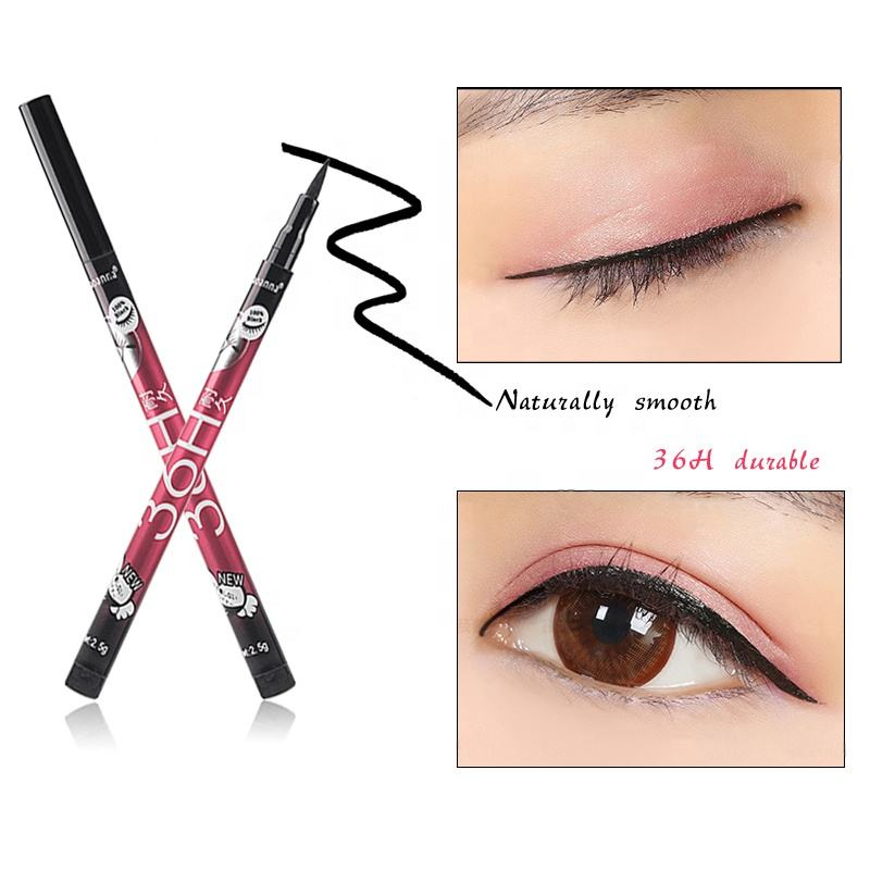 2020 New Trendy Wholesale Makeup Thin Smooth Eye liner Liquid Durable Waterproof Eyeliner Pencil