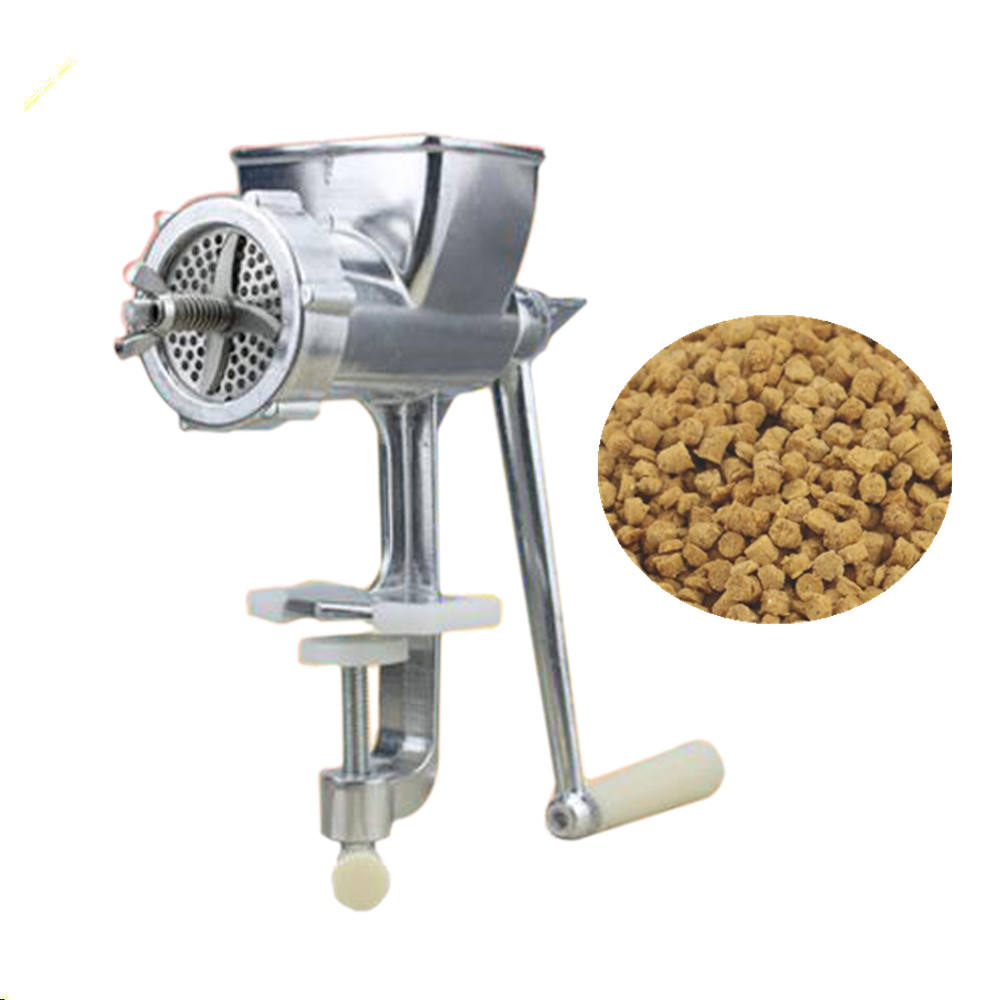 manual pet pellet feed processing household birds fish turtles food extruder machine for home(whatsApp/wechat:+86 15639144594)