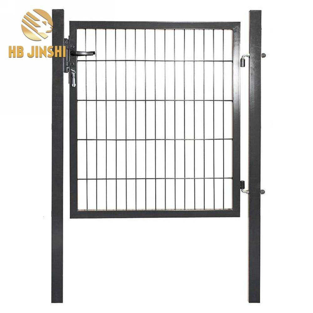 Grey/Green Powder Coated Single Garden gate Double Gates