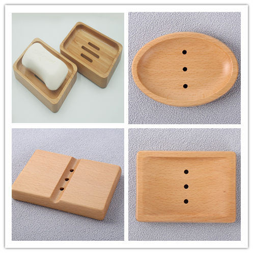 Wooden, Kieselguhr, Wheat straw, Silicone, Stainless Steel Eco-friendly Material Soap Dish