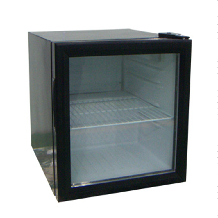52L Mini Display Freezer Small Upright Glass Door