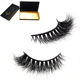 Wholesale Price Private Label 3D Mink Strip Eyelashes custom packaging Mink Lashes